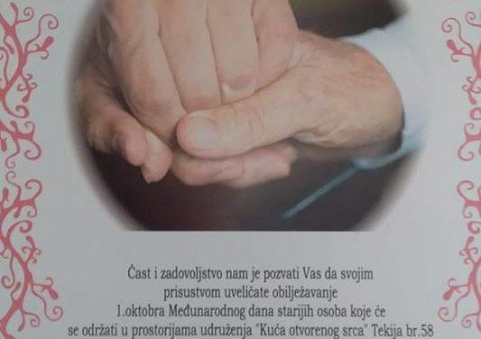 """""""ŽIVIMO ZAJEDNO, STARIMO AKTIVNO"""" – projekat KUĆE OTVORENOG SRCA iz Mostara"""