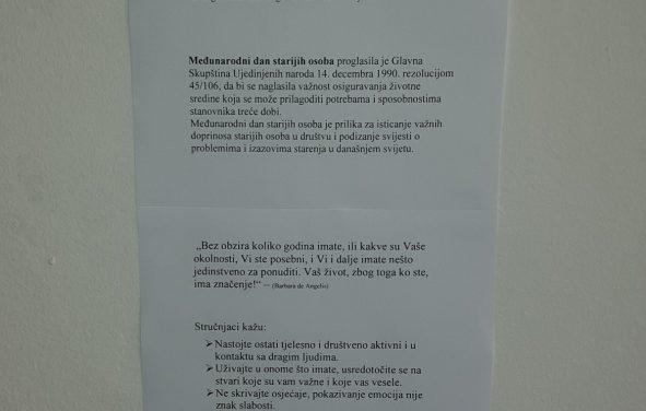 """""""AKTIVNA STAROST"""" u Kozarskoj Dubici"""