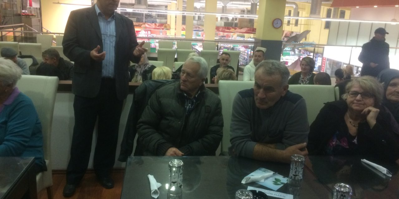"""Poslije  posjete Udruženju građana """"Putevi mira"""" u Kozarskoj Dubici, cilj je bio Bihać"""